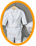 boy christening gown preservation